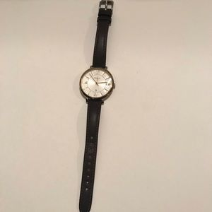 Fossil women's watch dark brown